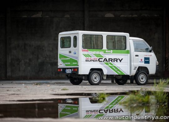 Ikuti Carry Pickup, Suzuki Super Carry Diesel Segera diinjeksi mati