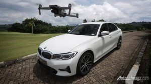 BMW Private Driving Experience: 320i Perkenalkan DJI